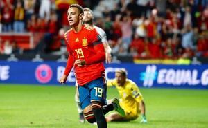 España golea a Islas Feroe en partido de trámite (4-0)