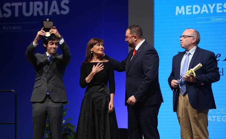 Acto de entrega de las Medallas de Asturias