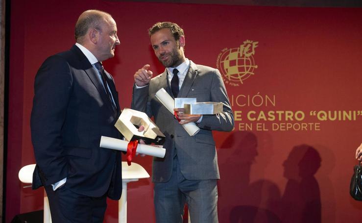 I Premios Quini de la Federación a los valores deportivos