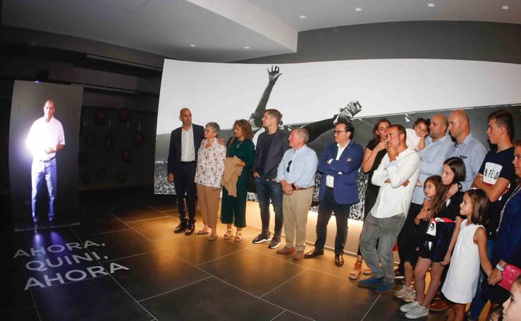 Inauguración del 'Espacio Quini' en El Molinón