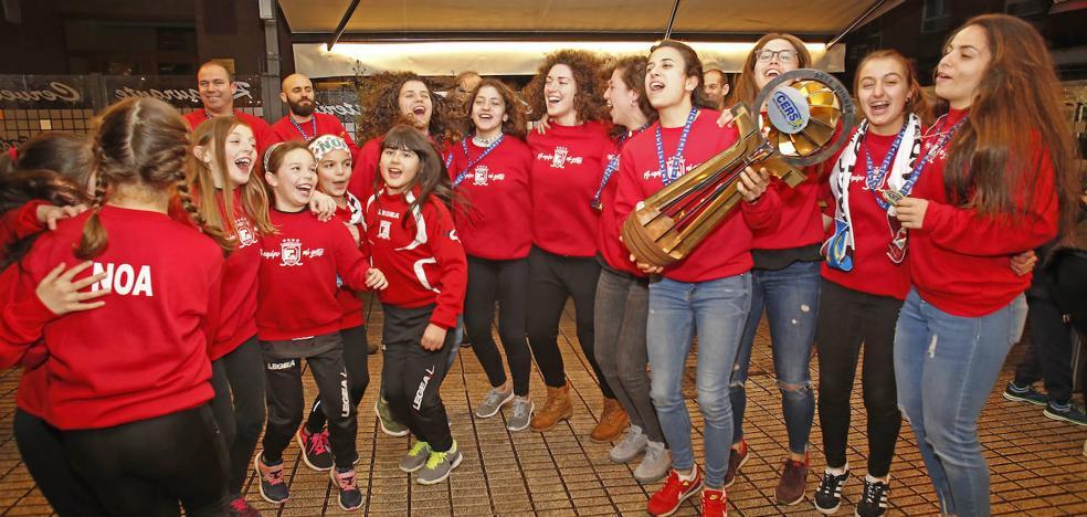 El Telecable Hockey arranca en Europa contra el Palau