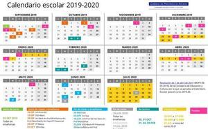 Calendario escolar en Asturias: el martes comienza el curso 2019-2020