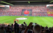 Las imágenes del partido entre España e Islas Feroe