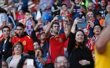 ¿Estuviste en el partido de la selección española en El Molinón? ¡Búscate! (I)