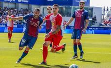 Huesca 1 - 0 Sporting, en imágenes