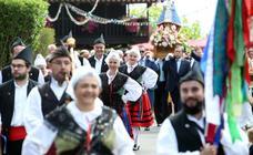 Lleno en el día grande de las fiestas en el Centro Asturiano