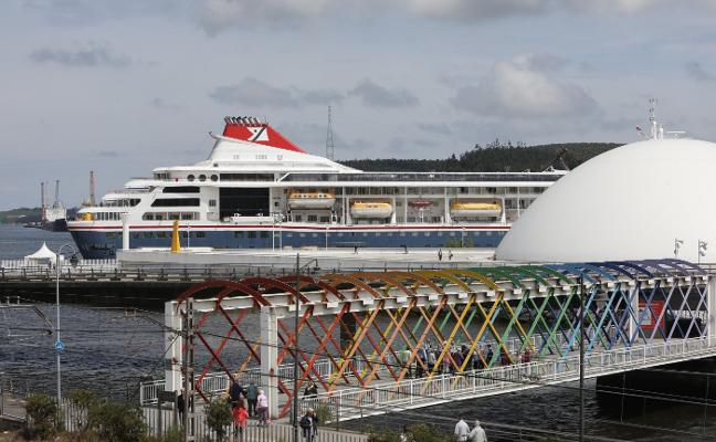El 'Braemar' hace hoy una escala en Avilés en un crucero 'misterioso'