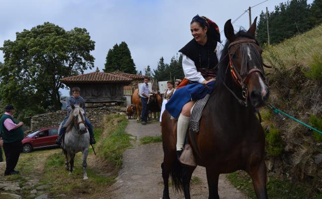 De la braña hasta la Casa del Puerto, con orgullo vaqueiro