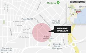 Hallan el cadáver de un recién nacido en un contenedor de basura en Alicante