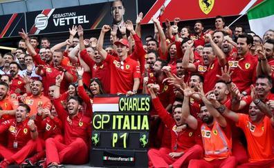 Ferrari muere de amor por Leclerc