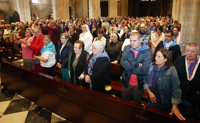 La pastora santa, de peregrinación a la Catedral