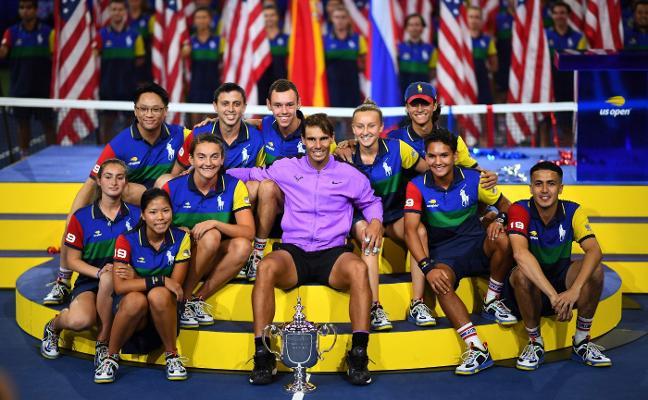 Nadal amenaza el trono de Federer