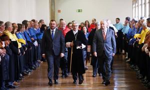 Barbón quiere que Principado y Universidad «vayamos de la mano para impulsar Asturias a la vanguardia del conocimiento»
