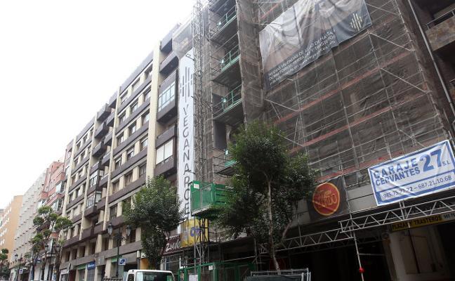 La constructora madrileña Veganarcea levanta 28 pisos de lujo en la calle Cervantes