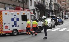 Una mujer, herida grave tras ser atropellada en Oviedo