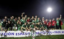Las mejores imágenes de la Copa Federación, Llanes 2 - 1 Tuilla