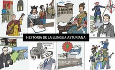 Una hestoria de la llingua asturiana
