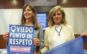 Las fiestas se blindan contra las agresiones sexistas con 'Oviedo, punto de respeto'