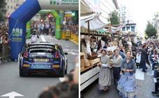 Cortes de tráfico en Oviedo con motivo de San Mateo y del Rally Princesa de Asturias