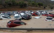 Las impresionantes imágenes de las inundaciones en la zona del Levante