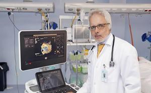 Jesús de la Hera, cardiólogo experto en ecocardiografía de esfuerzo