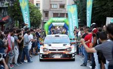 Arranca el Rally Princesa de Asturias en Oviedo