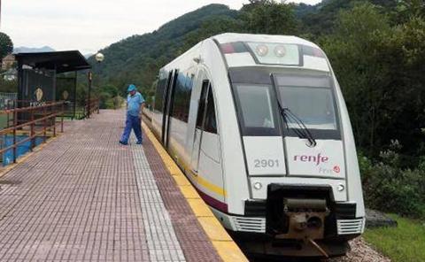 Renfe fija una parada en El Caleyo durante el Rally Princesa de Asturias