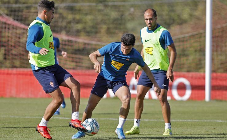 Entrenamiento del Sporting (12-09)