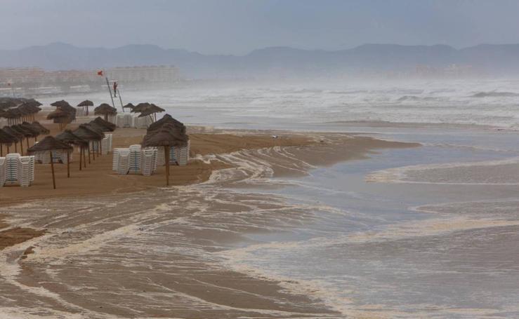 DANA: las impresionantes imágenes de las tormentas en España