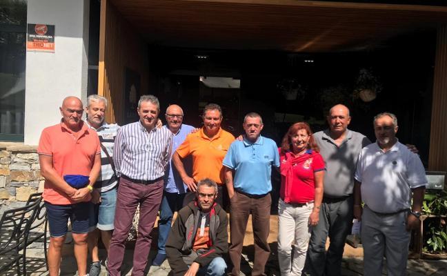 Campeonato de antiguos 'caddies' en Castiello