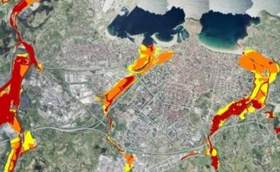 Gijón, una de las quince zonas con mayor riesgo de inundación en España