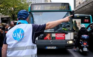 Los sindicatos dan el primer aviso a Macron