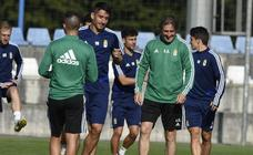 Entrenamiento del Real Oviedo (13/09/2019)