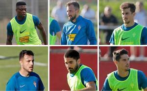 Sporting | José Alberto mira a los extremos