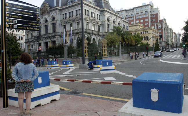 Más barreras antiterroristas para mayor seguridad