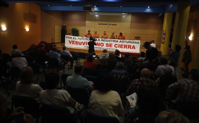 El Principado señala que «no existen razones económicas» para el cierre de Vesuvius