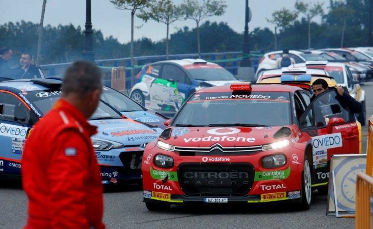 El Rally Princesa de Asturias, en su recta final