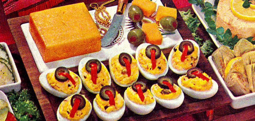 Unos huevos rellenos de hace 800 años