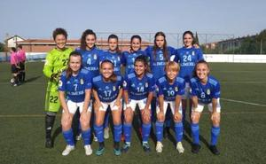 El Real Oviedo 'suma y sigue' ante el Racing Féminas