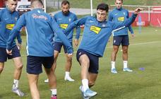 Entrenamiento del Sporting (14-09-19)