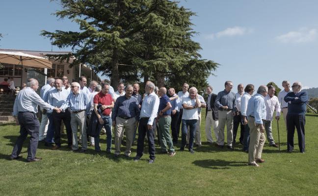 La promoción del 71 de los jesuitas celebró los 65 años y la jubilación