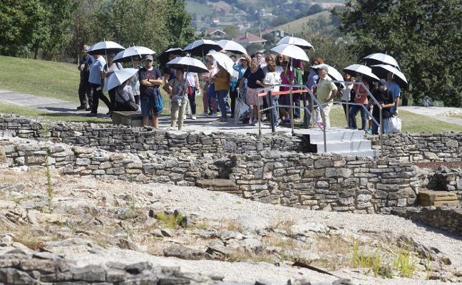 Escenas de la época romana en el Día de la Ruta Vía de la Plata