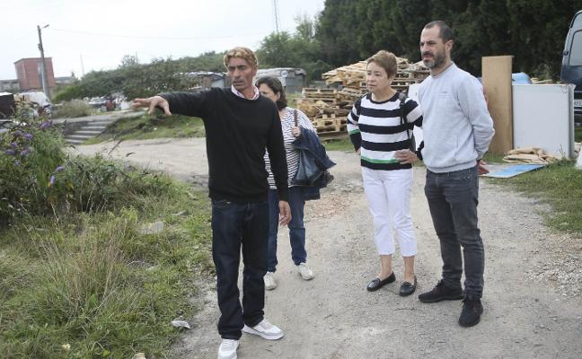 Siero aumentará la limpieza en el poblado de la Sierra de Granda