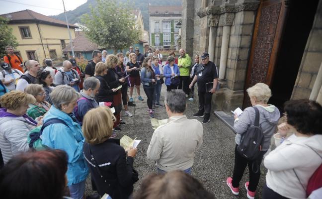Mieres impulsa el Camino del Salvador con una senda cultural por el concejo