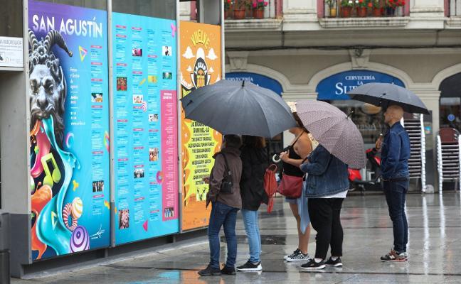 El volumen de lluvias se redujo en Avilés un 2% en los últimos cincuenta años