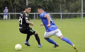 Roberto Alarcón prolonga la buena racha del Oviedo B
