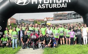 Doscientos corredores contra el cáncer de La Fresneda