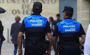 Un menor detenido por herir con una botella a un operario de la limpieza en Oviedo