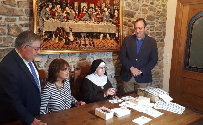 Un matasellos conmemora los 325 años de Las Clarisas