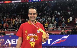 Un asturiano se cuelga el oro en el Mundial de baloncesto